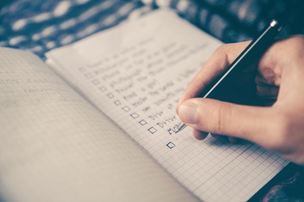 Comparison Checklist